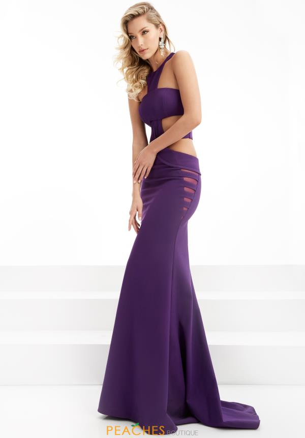 Long Jersey Jasz Couture Dress 6075