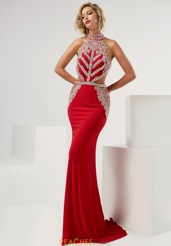 Sexy Open Back Jasz Couture Dress 6080