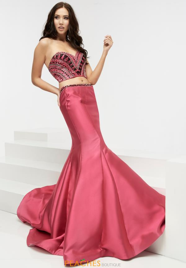 Two Piece Mermaid Jasz Couture Dress 6082