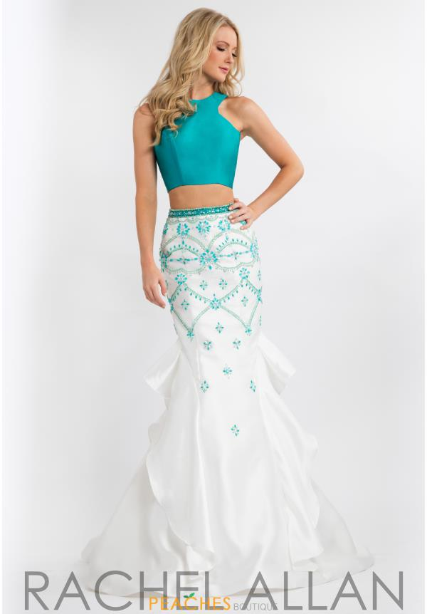 Rachel Allan Mermaid Mikado Dress 7633