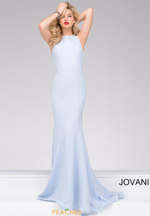 Jovani Fitted Jersey Dress 34110