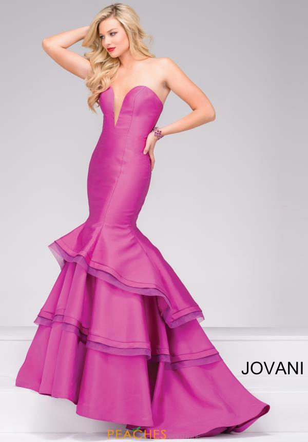 Strapless Mermaid Jovani Dress 37099