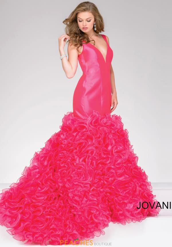 Organza Mermaid Jovani Dress 41639