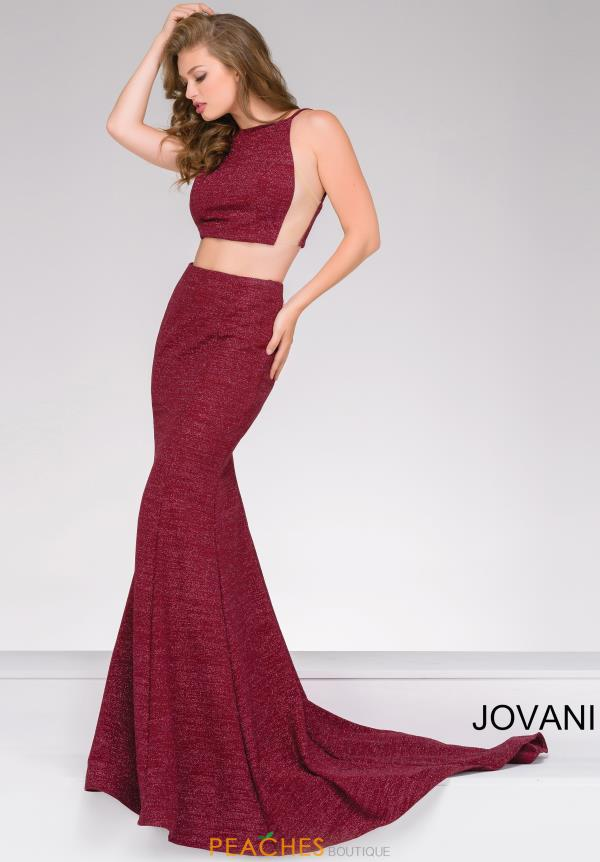 Jovani Two Piece Mermaid Dress 45931