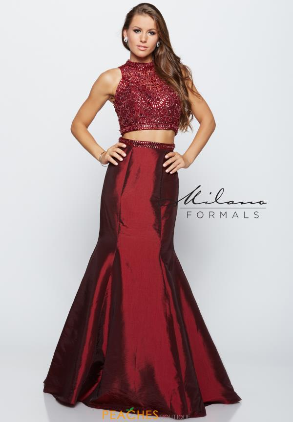 Milano Formals Two Piece Fitted Dress E2021