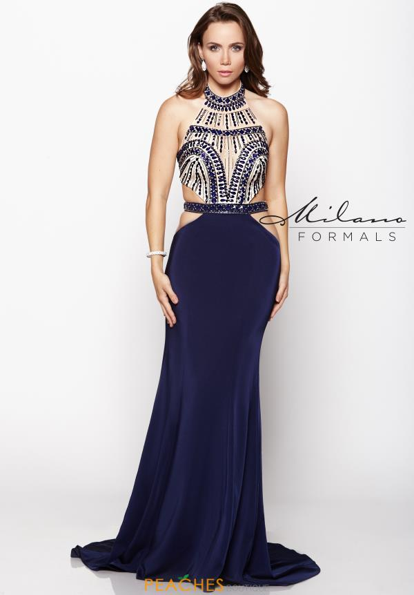 Milano Formals Sexy Fitted Dress E2060