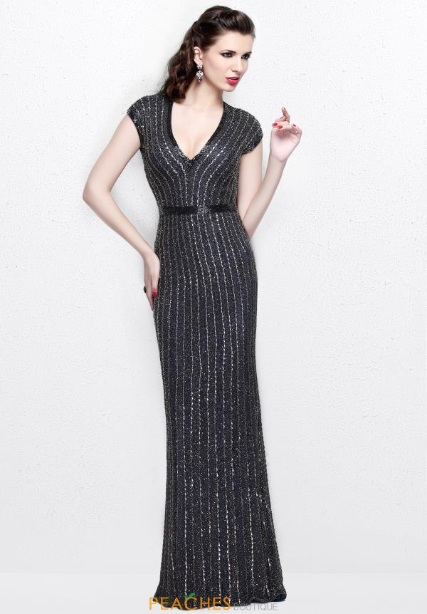 Primavera Long Fitted Dress 1709