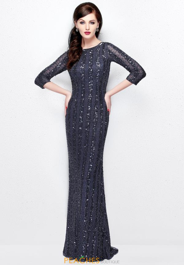 Primavera Long Fitted Dress 1719
