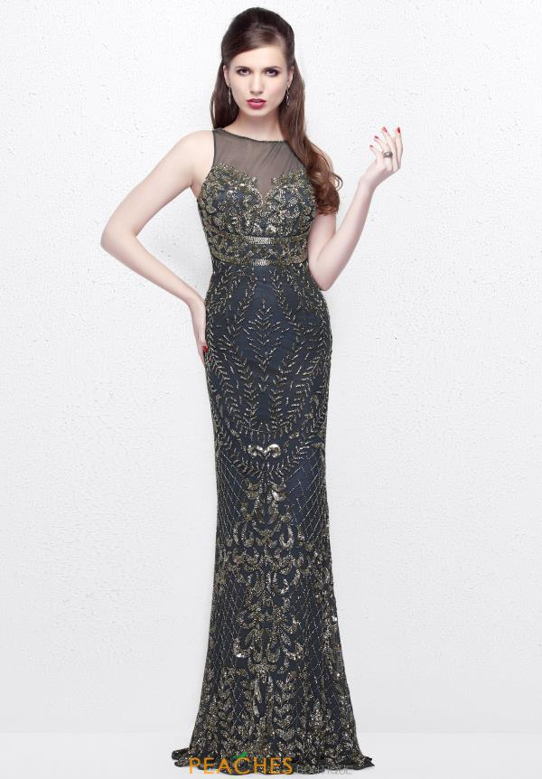Primavera Fitted Long Dress 1742