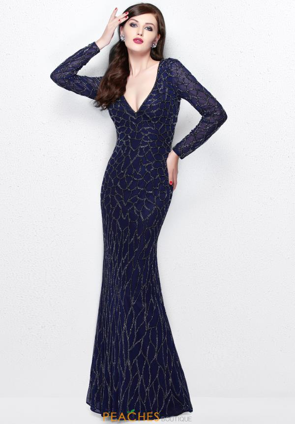 Primavera Long Fitted Dress 1746