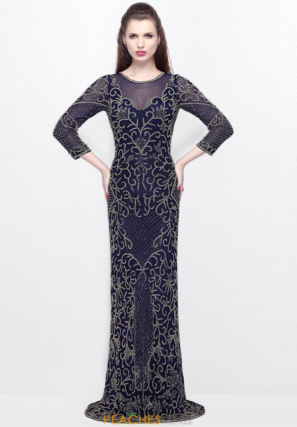 Primavera Long Fitted Dress 1749