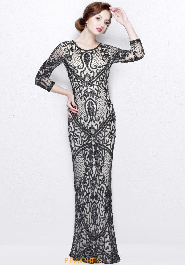 Primavera Long Fitted Dress 1759