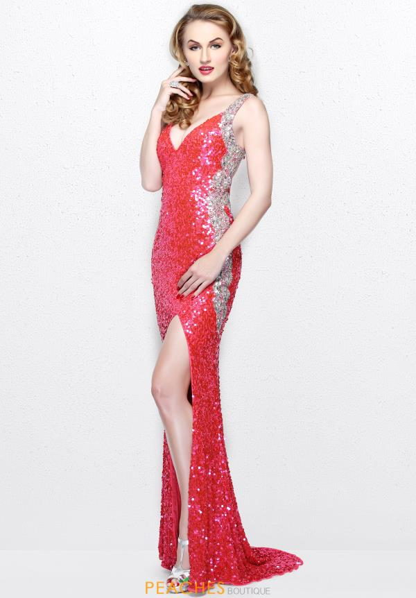Primavera Long Fitted Dress 1819