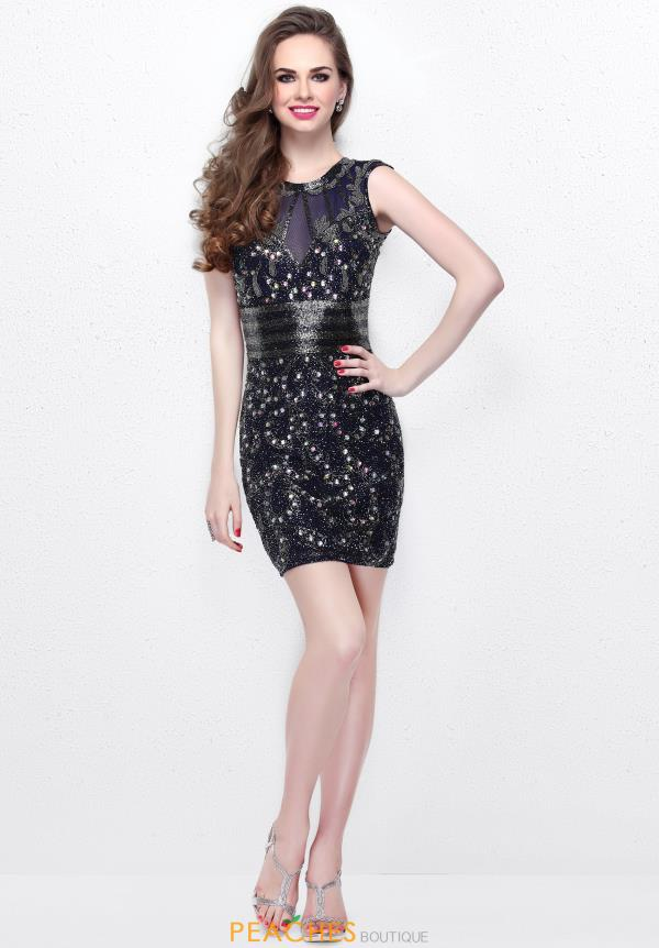 Primavera Short Fitted Dress 1694