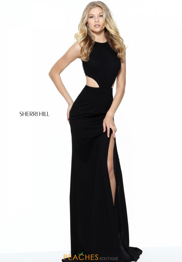 Sherri Hill Fitted Long Dress 50867