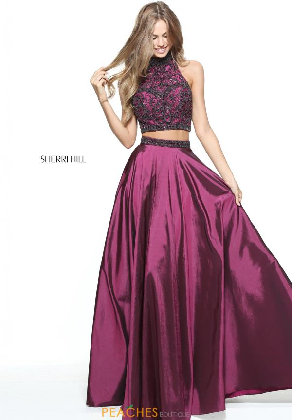 Sherri Hill Two Piece A Line Dress 51061