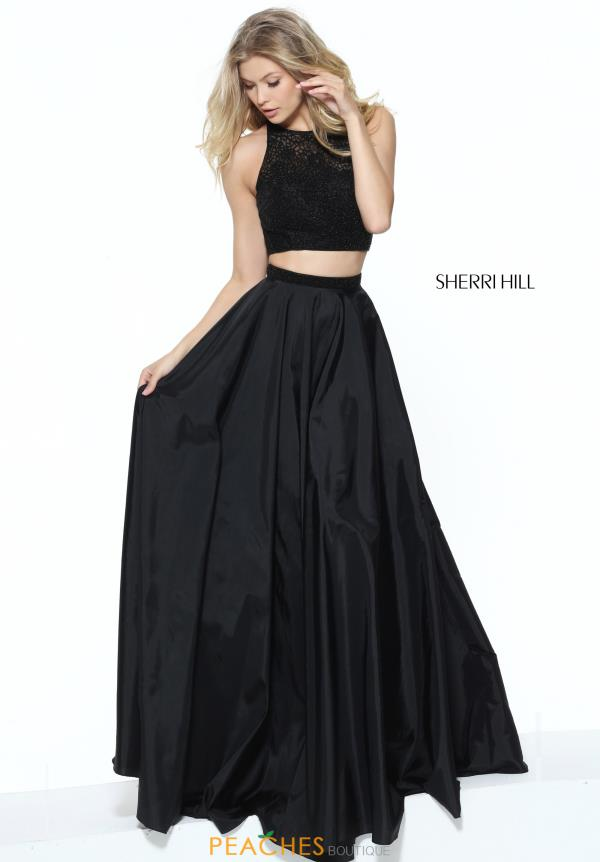 Sherri Hill Beaded Two Piece Dress 50803