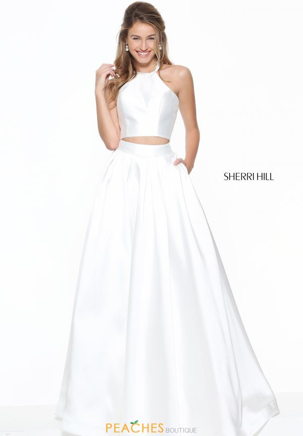 Sherri Hill Two Piece Long Dress 50893