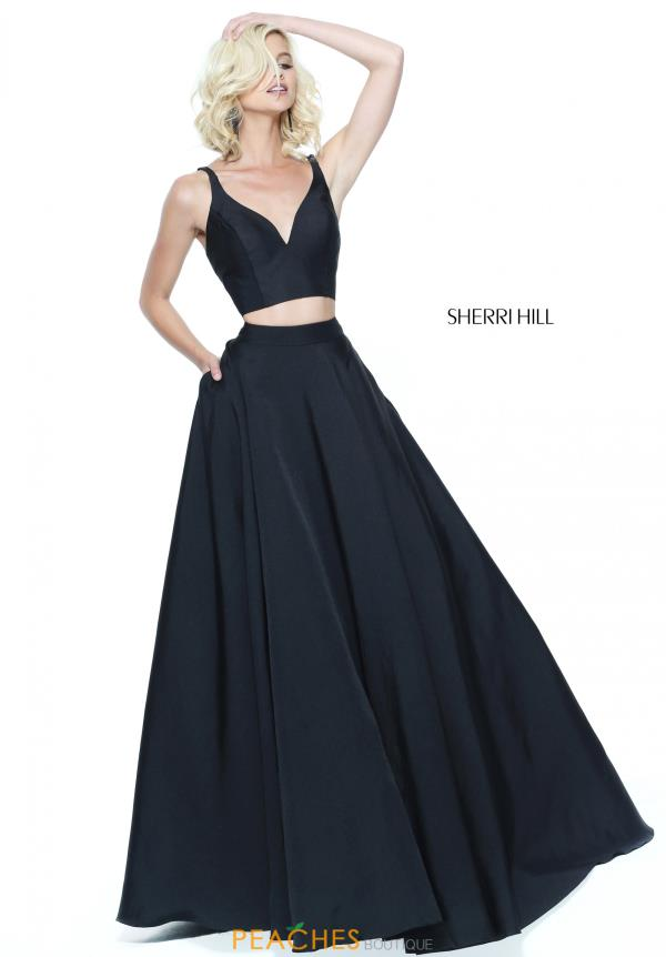 Sherri Hill Two Piece A Line Dress 50894