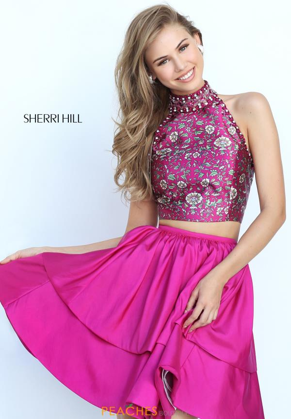 Sherri Hill Short Two Piece Dress 50798