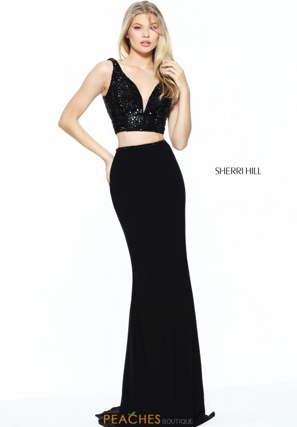 Sherri Hill Two Piece Fitted Dress 50996