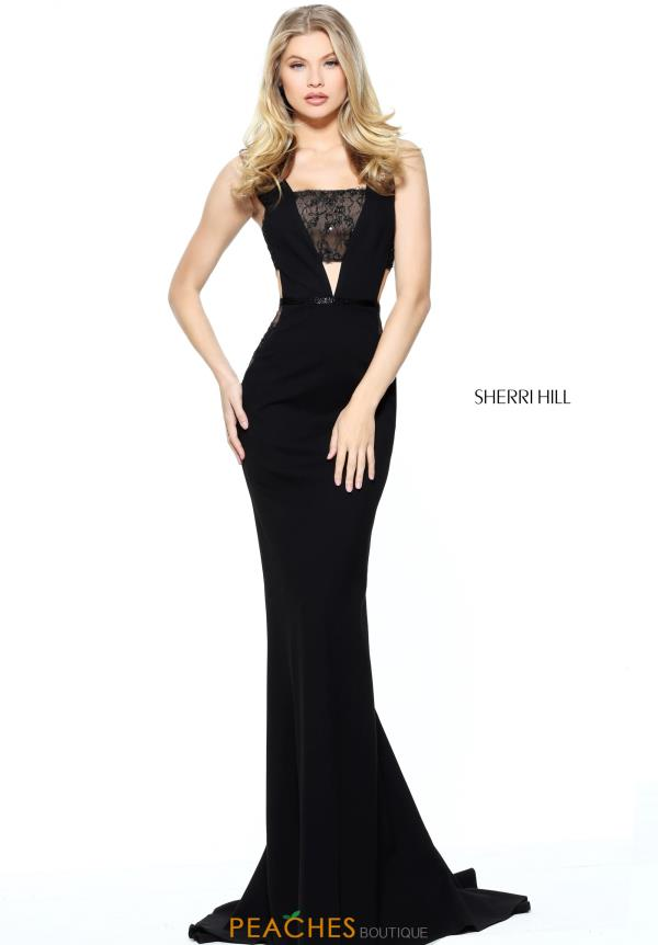 Sherri Hill Long Fitted Dress 50997