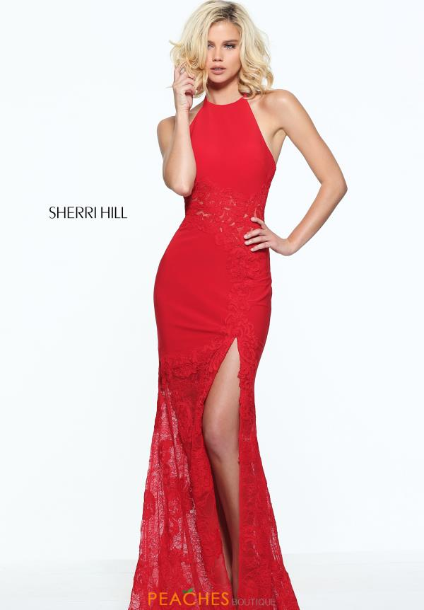 Sherri Hill Long Fitted Dress 51019