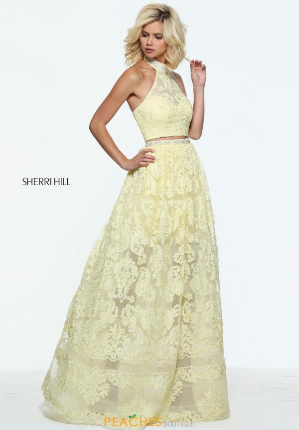 Sherri Hill Two Piece A Line Dress 51020