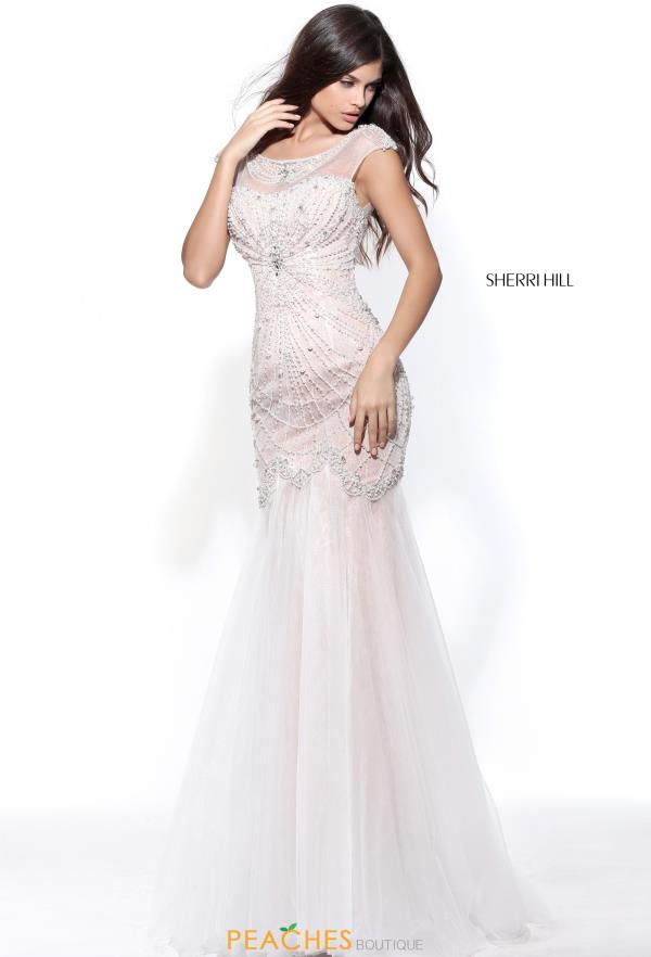 Sherri Hill Beaded Long Dress 51047