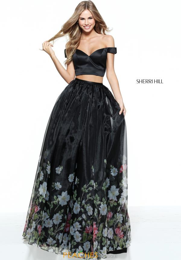 Sherri Hill Two Piece A Line Dress 51053