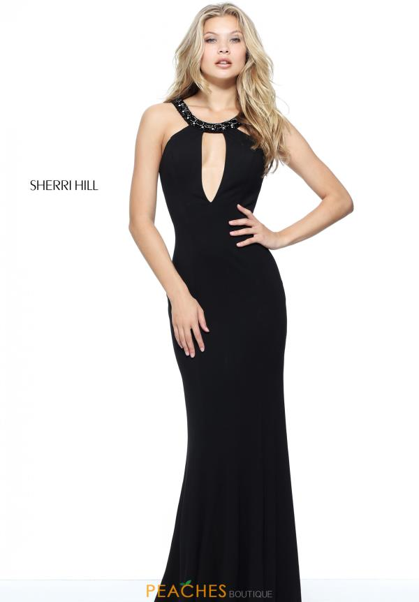Sherri Hill Long Fitted Dress 51080