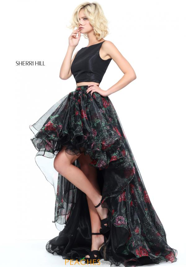 Sherri Hill Two Piece High Low  Dress 51098
