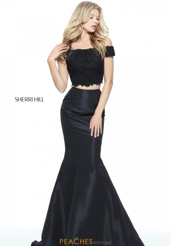 Sherri Hill Cap Sleeved Fitted Dress 51157