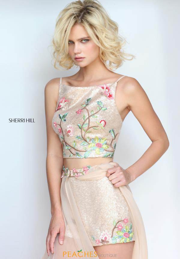 Sherri Hill Two Piece Long Dress 51187