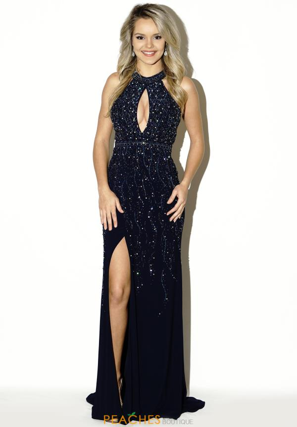 Evenings by Mon Cheri Sexy Fitted Dress MCE11623