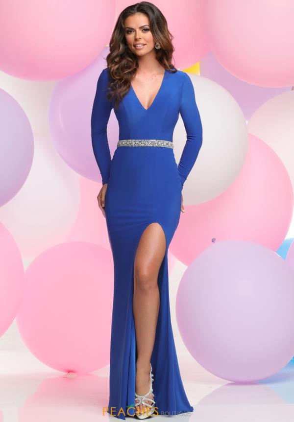 Zoey Grey Fitted Long Sleeve Dress 30950