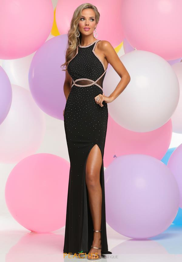 Zoey Grey Fitted Tulle Dress 30981