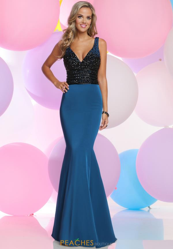 Zoey Grey Fitted Beaded Dress 30994