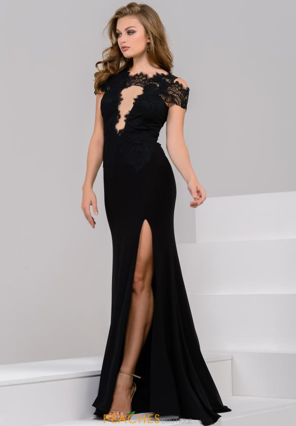 JVN by Jovani Long Fitted Dress JVN43013