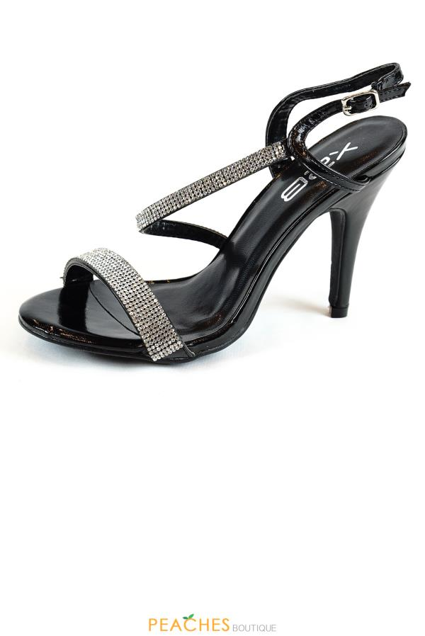 Candis-1 Criss Cross Heels by Shoe Magnate Footwear