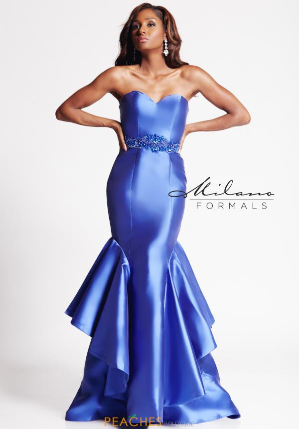 Milano Formals Sweetheart Neckline Fitted Dress E2016