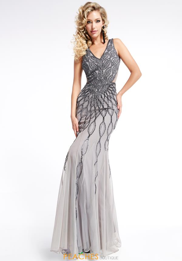 Jasz Couture Long Beaded Dress 1314