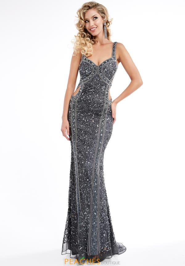 Jasz Couture Beaded Long Dress 1315