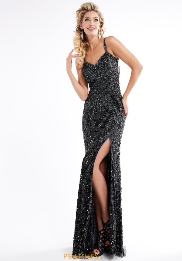 Jasz Couture Sexy Open Back Dress 1316