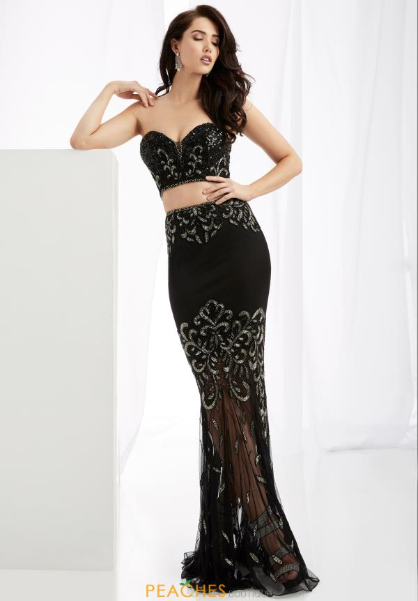 Jasz Couture Dresses 1361 at Peaches Boutique
