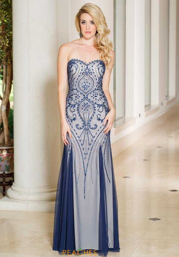 Sean 50961 Sweetheart Long Dress