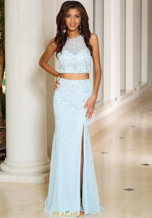 Sean 50968 Beaded Two Piece Dress