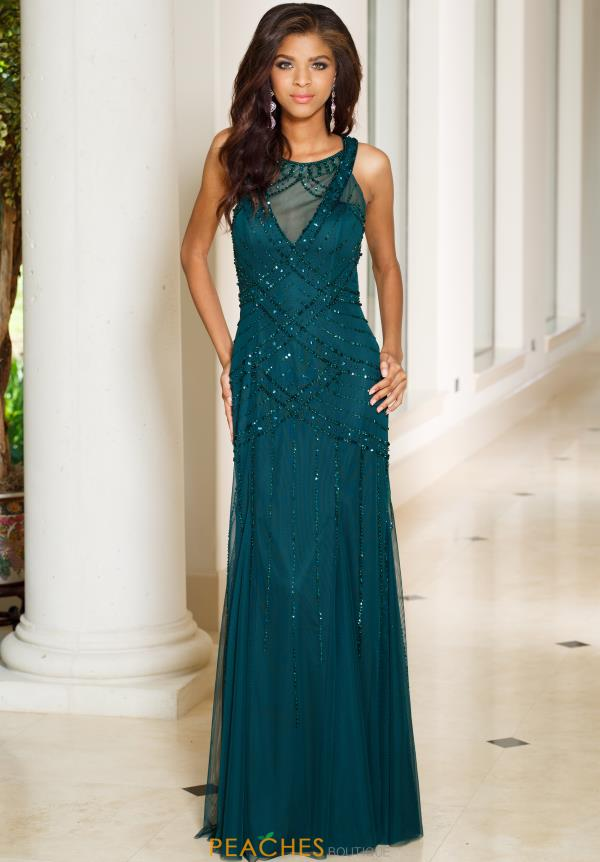 Sean Fitted Beaded Dress 50992