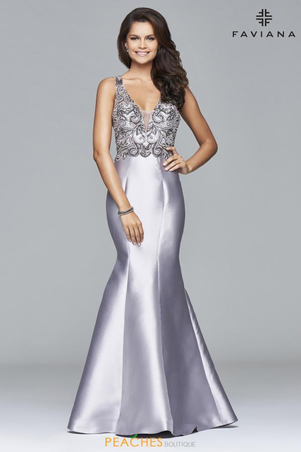 Faviana Long Mermaid Dress S7964