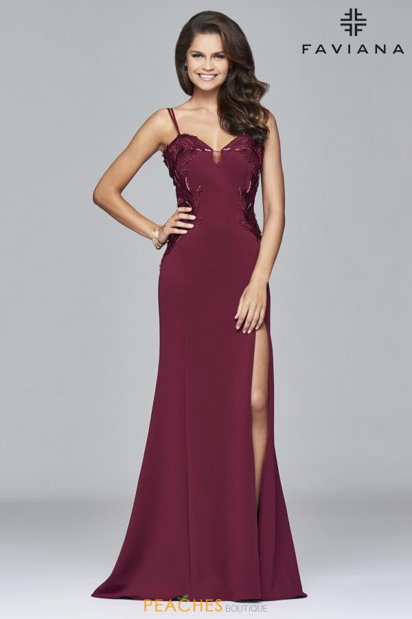 Faviana Sweetheart Neckline Fitted Dress S8004